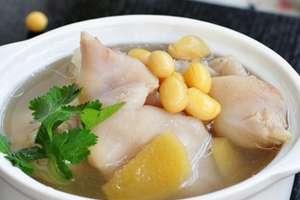 猪蹄炖黄豆的做法 猪蹄炖黄豆怎么做好吃